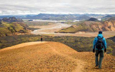 Laugavegur trail – 4 dny, chatky