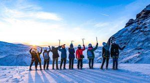 exkurze na ledovci Island