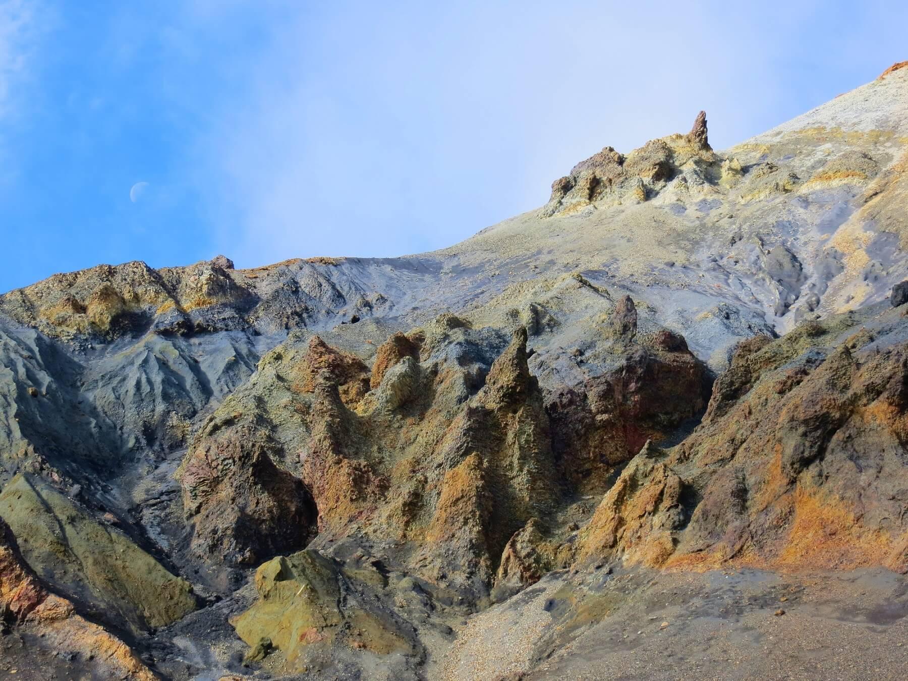 Landmannalaugar barvene hory