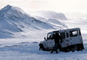 Exkurze na super jeepech do islandského vnitrozemí.