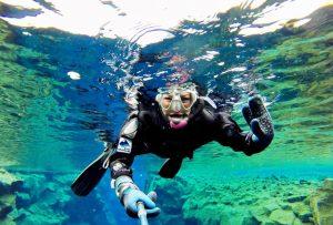 Exkurze šnorchlování Island
