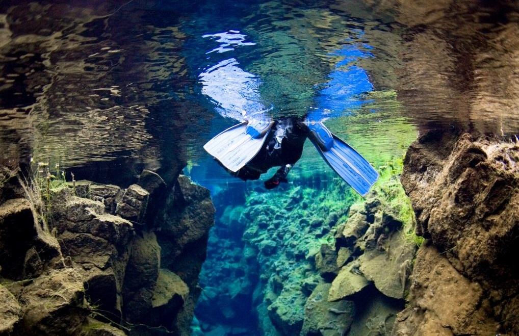 Exkurze šnorchlování na Islandu