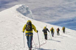 vrchol ledovce Snæfellsjokull
