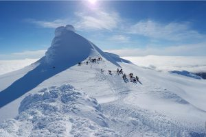 Exkurze na ledovec Snaefellsjokull na Islandu