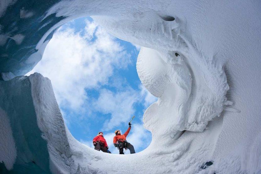 Exkurze na ledovec Mýrdalsjökull