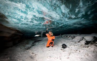 Langjökull skutry a jeskyně