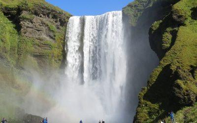 Ledovce a vodopády