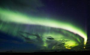polarní zar aurora Island