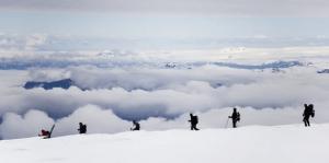 vrchol Vatnajokullu