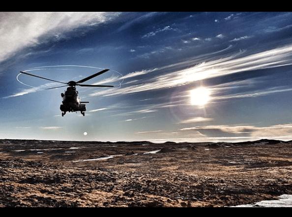 Exkurze helikoptérou