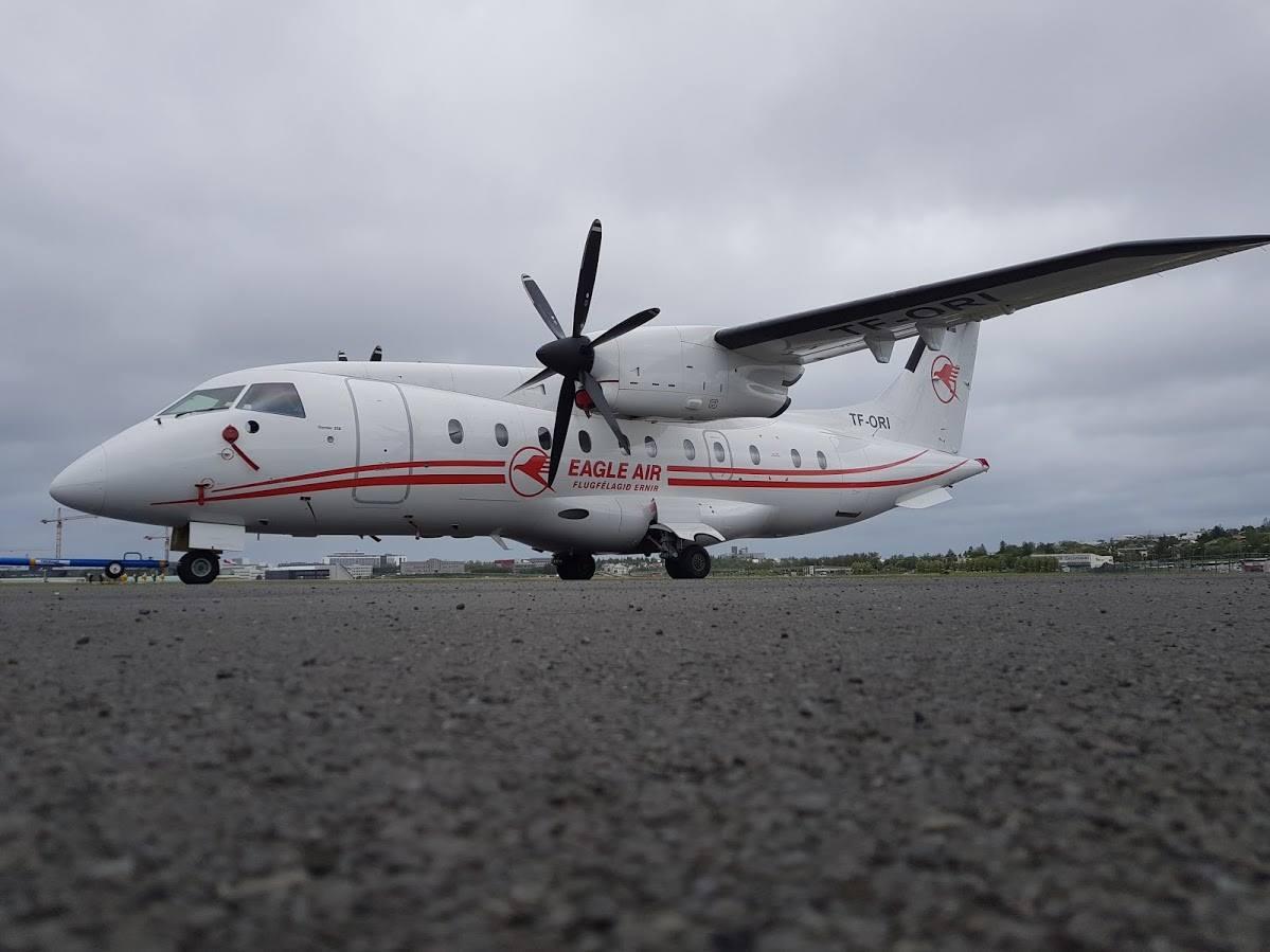 Vyhlídkové lety nad Islandem
