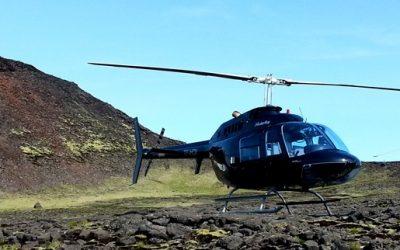 Exkurze do sopky helikoptérou