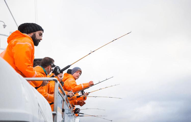 Exkurze rybaření v Atlantiku