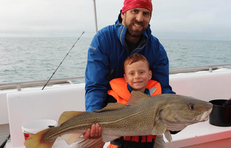 Rybaření v Atlantiku na Islandu