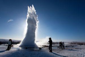 gejzír Island