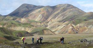 vnitrozemí Islandu Landmannalaugar