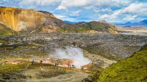Landmannalaugar na Islandu