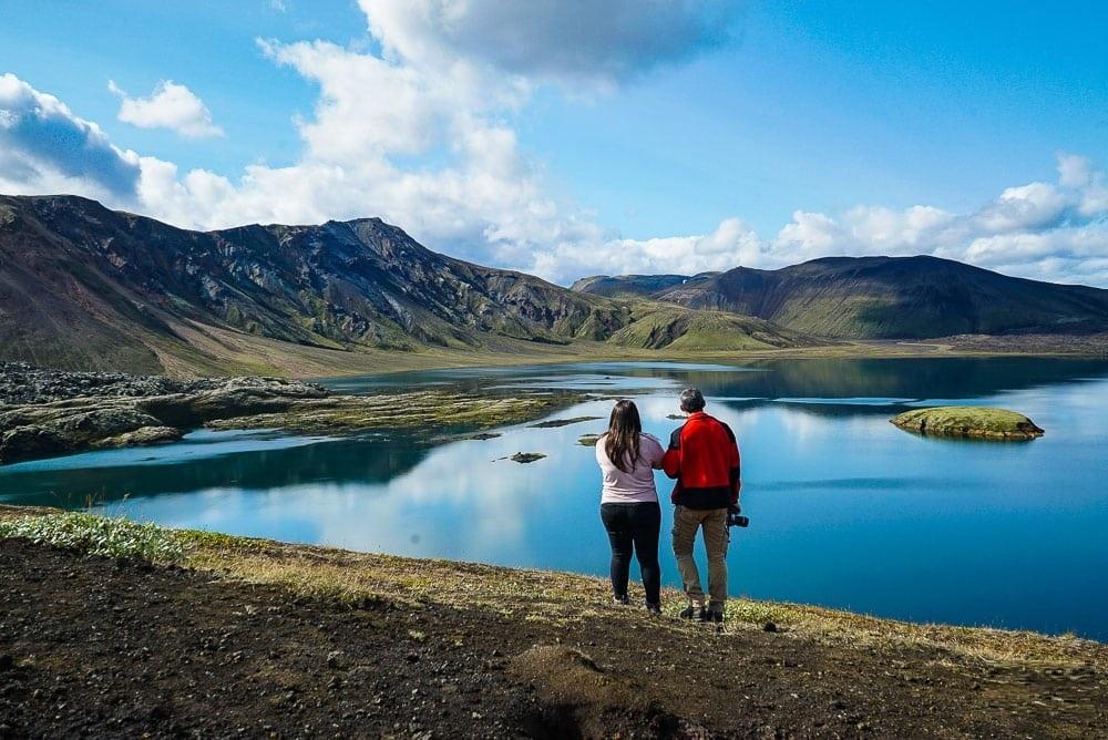 Trek do barevných hor Landmannalaugar