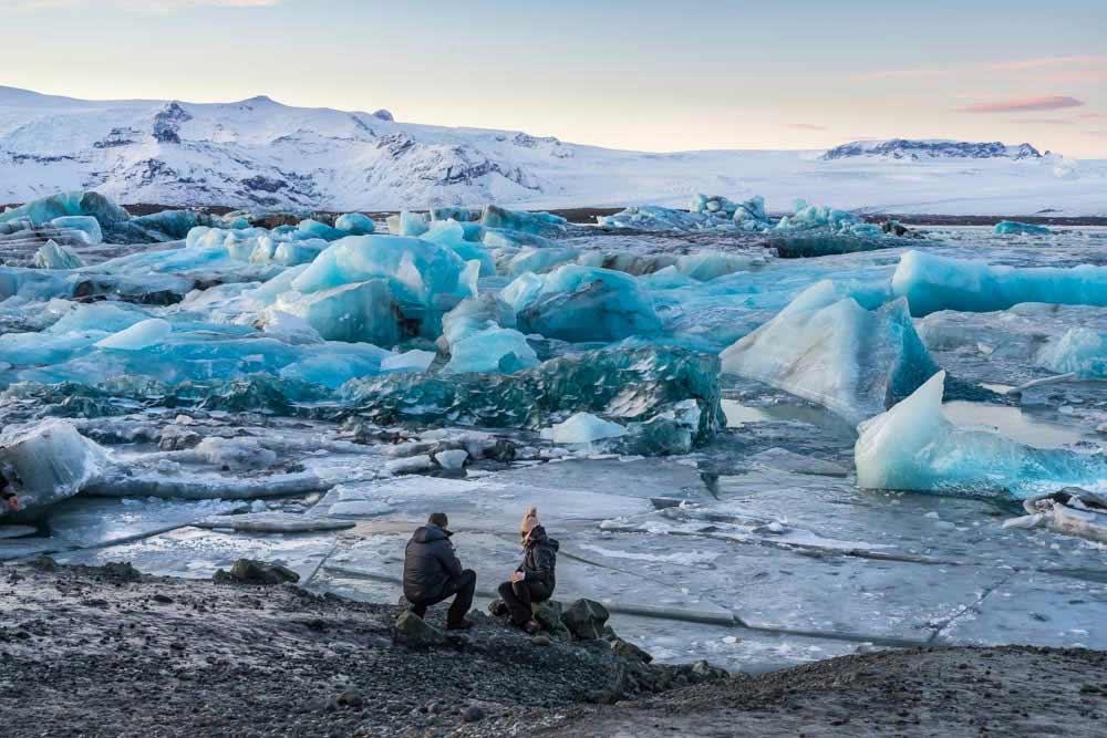 Ledovcová laguna Jökulsarlon