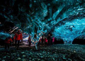 ledova jeskyne island