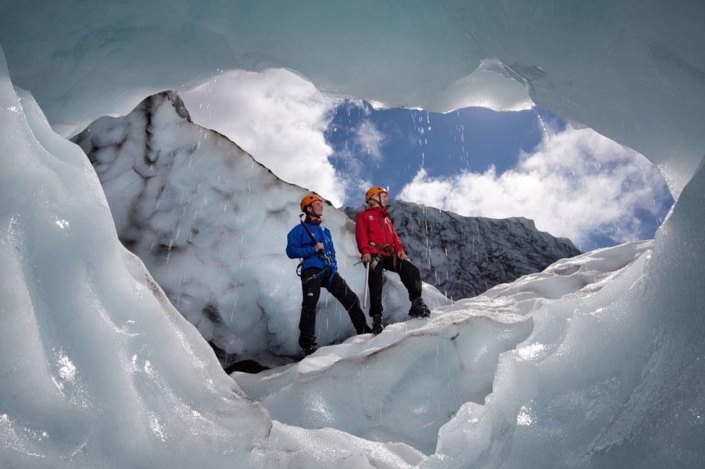 exkurze na ledovec na Islandu