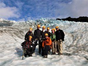 Exkurze na ledovec Vatnajokull