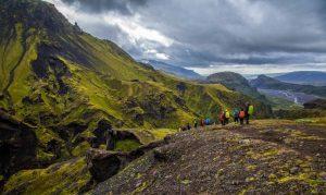 Trek na Islandu