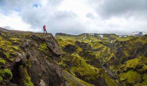 Hike na Islandu