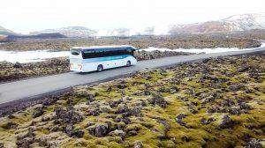 Autobusový transfer do Modré laguny