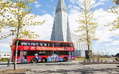 Turistický autobus Reykjavík