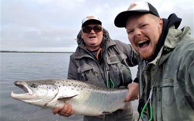 Rybaření na řece či jezeře