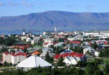 Rezkjavík hlavní město Islandu