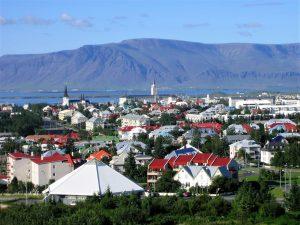 Reykjavík hlavní město Islandu