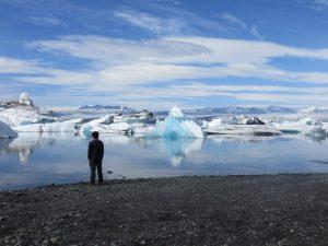 Laguna Jokulsarlon na Islandu