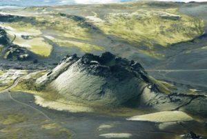 kratery Laki na Islandu