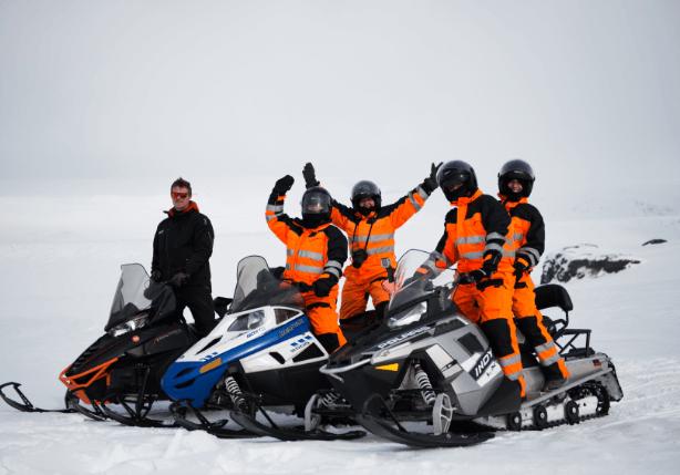 Exkurze na ledovci Mýrdalsjökull