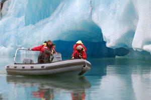Ledovcova laguna Jokulsarlon