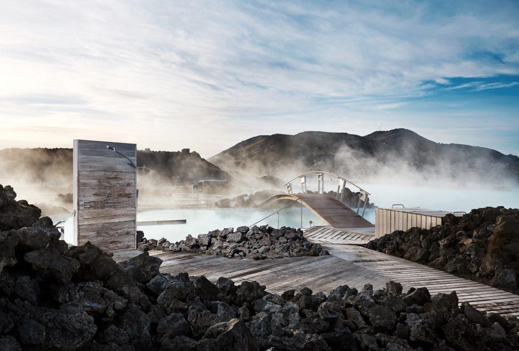 Modrá laguna na Islandu