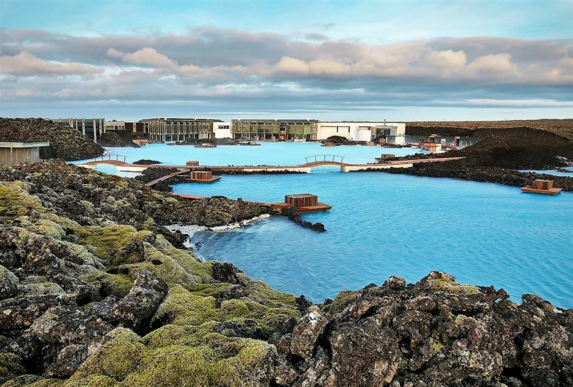 Modrá laguna Island