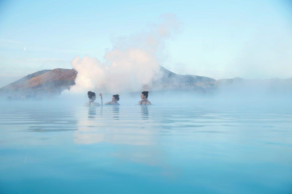 Lázně Modré laguny na Islandu