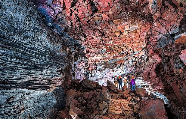 Lávový tunel Raufarhólshellir