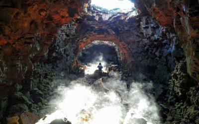 Lávový tunel z Reykjavíku