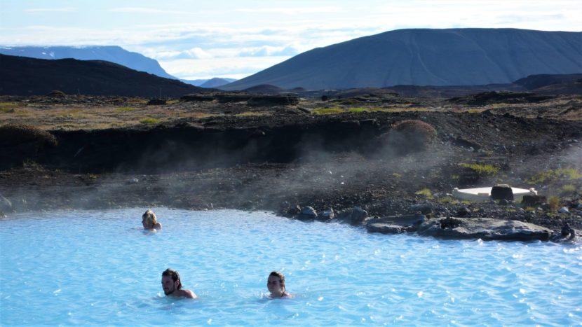 Laguna Mývant na Islandu