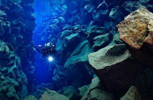 Buceo - diving en Islandia en Silfra