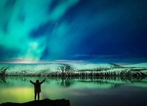 exkurze na polární záře na Islandu