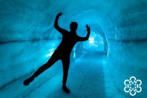 Ledová jeskyně v muzeu Perlan