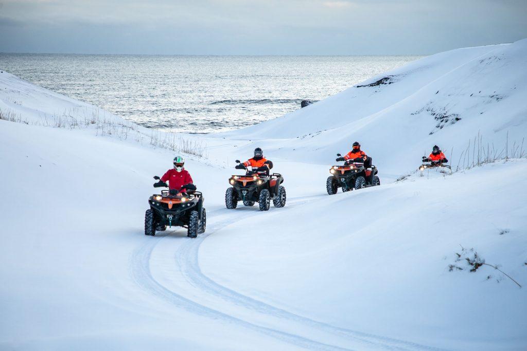 Čtyřkolky na Islandu