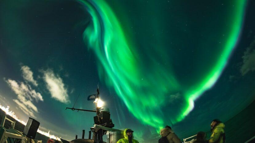 Exkurze na pozorování polárních září z lodi