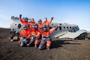 Vrak ztraceného letadla na Islandu