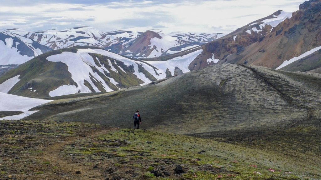 Laugavegur trek na Islandu